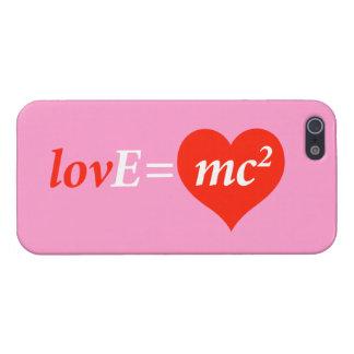 Teoría de la ecuación del amor iPhone 5 carcasas