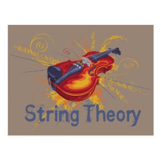 Teoría de la secuencia tarjetas postales