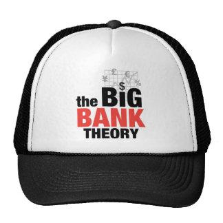 Teoría grande del banco gorras de camionero