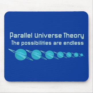 Teoría paralela del universo alfombrilla de ratones