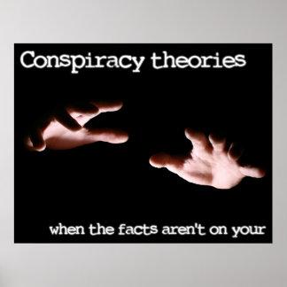 Teorías de conspiración póster