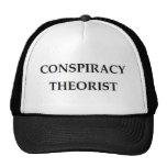 Teórico de la conspiración gorra