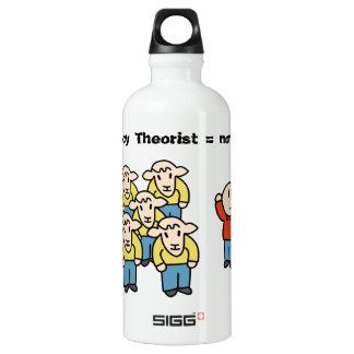 Teórico = non-sheeple de la conspiración botella de agua