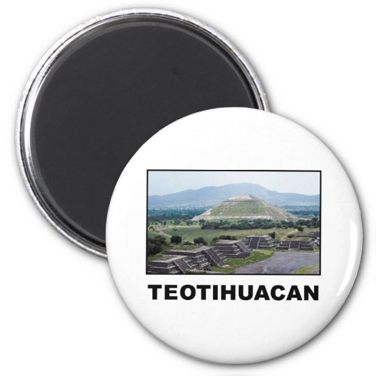 Teotihuacan Magnet