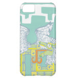 Teotihuacan Warrior and Kukulkan Case For iPhone 5C