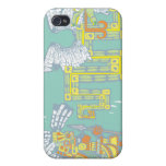 Teotihuacan Warrior and Kukulkan Case For iPhone 4