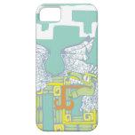 Teotihuacan Warrior and Kukulkan iPhone 5 Cases