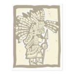 Teotihuacan Warrior Post Card