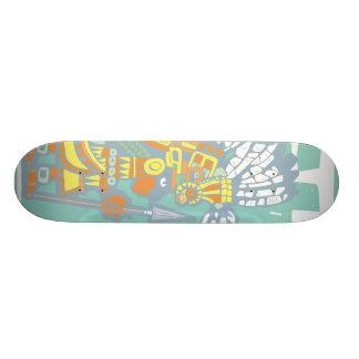 Teotihuacan Warrior Skateboard Deck
