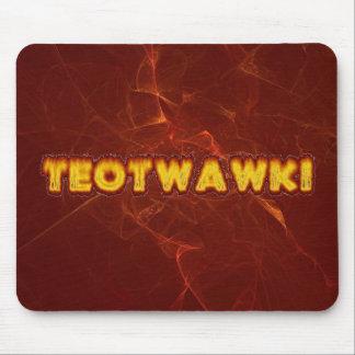 TEOTWAWKI Prepper Mouse Pad