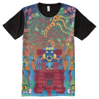 Tepantitla All-Over-Print Shirt