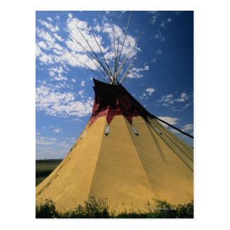 Tepee near Little Bighorn Battlefield Postcard