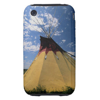 Tepee near Little Bighorn Battlefield Tough iPhone 3 Covers