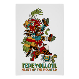 Tepeyollotl Poster
