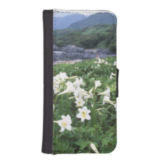 Teppo Yuri (Lily), Yakushima, Kagoshima, Japan Wallet Phone Case For iPhone SE/5/5s