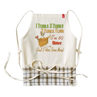 Tequila 60th Birthday Party Collection Zazzle HEART Apron