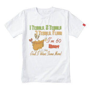 Tequila 60th Birthday Party Collection Zazzle HEART T Shirt