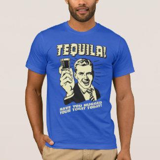 Tequila: Abrazó su retrete hoy Playera