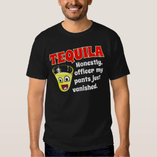 TEQUILA AND EXCUSE TEE SHIRT