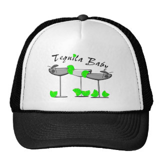 """""""Tequila Baby"""" - Tquila Lovers Womens T-Shirts Trucker Hat"""