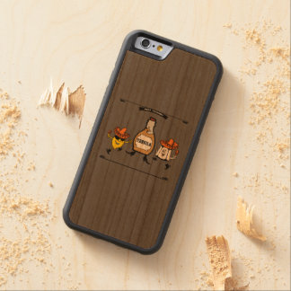Tequila Best Friends Forever Carved Cherry iPhone 6 Bumper Case