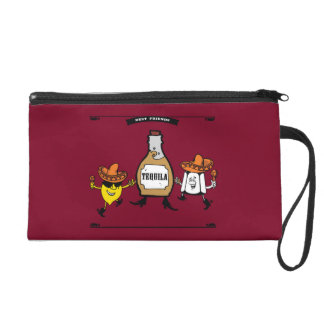 Tequila Best Friends Forever Wristlet