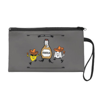 Tequila Best Friends Forever Wristlet Purse