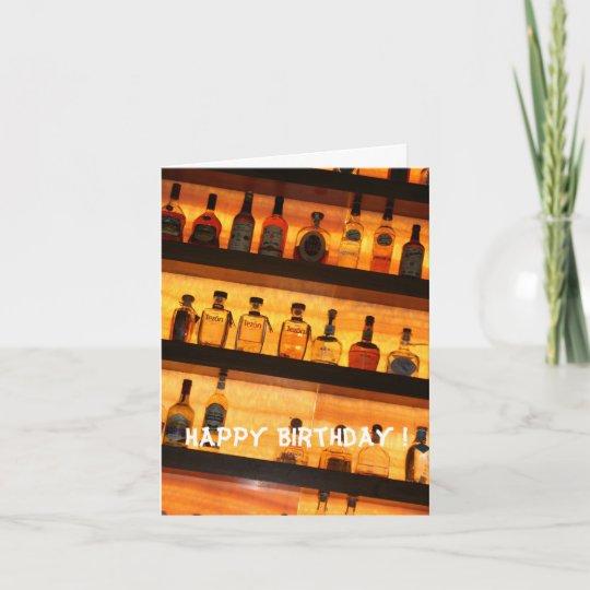 Tequila Birthday Card Zazzle