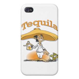 Tequila Cactus Mexican Sombrero Case For iPhone 4
