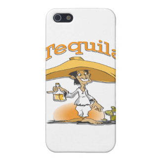 Tequila Cactus Mexican Sombrero iPhone SE/5/5s Case