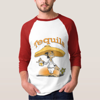 Tequila Cactus Mexican Sombrero Tee Shirt