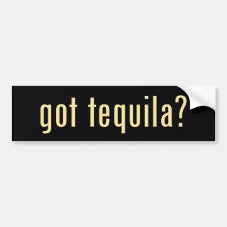 ¿tequila conseguido? pegatina de parachoque