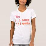 Tequila de Te Amo Camisetas