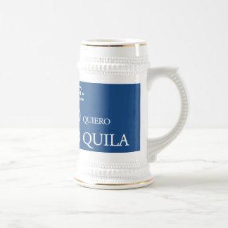 Tequila de Te Quiero Jarra De Cerveza