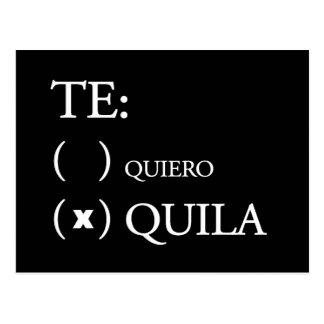 Tequila de Te Quiero Postales