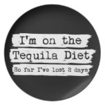 Tequila Diet Plate