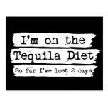 Tequila Diet Postcard