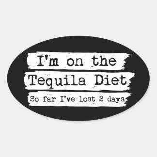 Tequila Diet Stickers