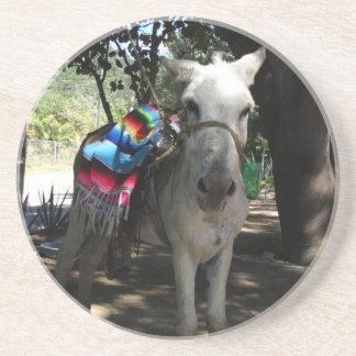 Tequila Donkey Drink Coaster