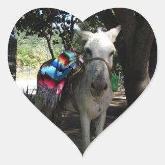Tequila Donkey Heart Sticker