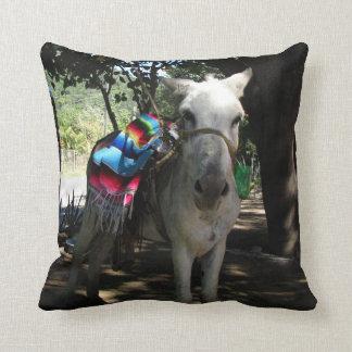 Tequila Donkey Throw Pillows