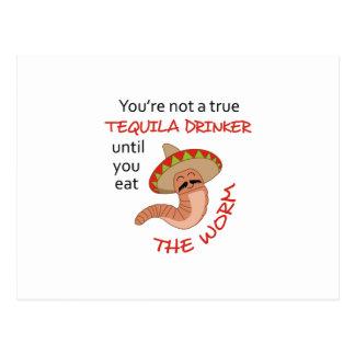 TEQUILA DRINKER POSTCARD