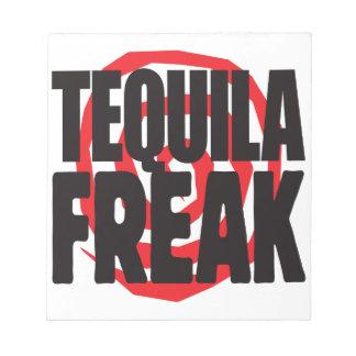 Tequila Freak Memo Note Pad