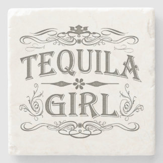 Tequila Girl Stone Coaster