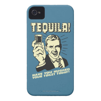 Tequila: Hugged Your Toilet Today Case-Mate iPhone 4 Case