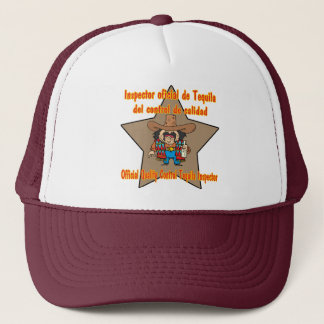 Tequila Inspector Cinco de Mayo Shirts and Gifts Trucker Hat