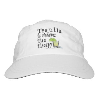 TEQUILA IS CHEAPER THAN THERAPY HEADSWEATS HAT