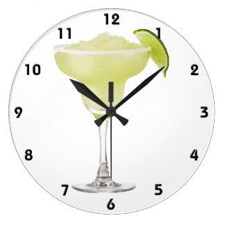 Tequila Lime Slushie Wall Clock