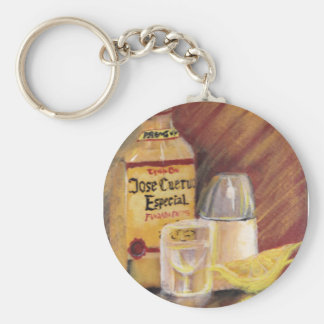 Tequila Love Keychain Basic Round Button Keychain