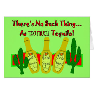 Tequila Lovers T-Shirts & Gifts Card